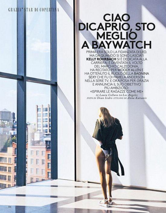 超模Kelly Rohrbach 最新性感时尚写真